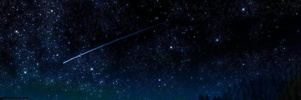krenta zvaigzdes naktyje
