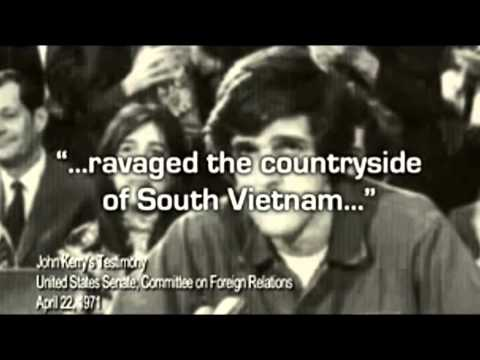 Soldiers who were with John Kerry in Vietnam: he's a traitor