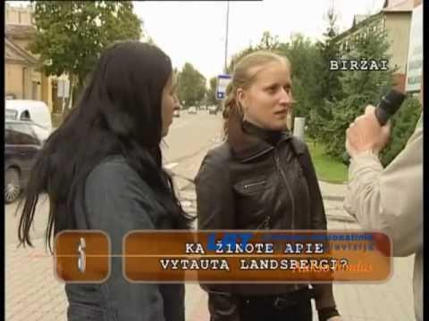 Ką galvoja žmonės apie Vytautą Landsbergį.
